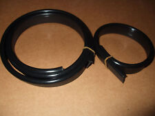 Austin A35 A30 Wing Piping Beading Half Round T Section Black