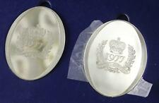 1977 Silver Jubilee Silver Ingot set of 2