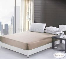 Unbranded Patternless 100% Cotton Bedding Sheets