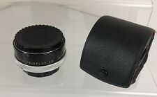 CFE AUTO TELEPLUS 2X TELE CONVERTER LENS WITH BOTH CAPS AND CASE MADE IN JAPAN
