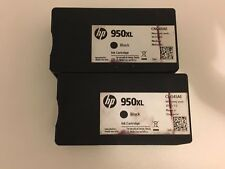 2 X Empty Used - HP 951xl Ink Cartridge ( Black ) - CN045AE