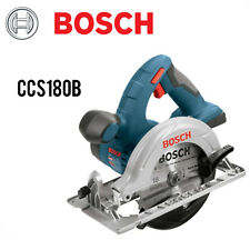 Bosch CCS180B 18V Cordless Lithium-Ion 6-1/2 in. Circular Saw (Bare Tool) New