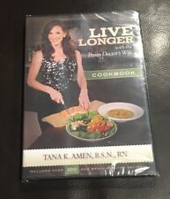 Live Longer with the Brain Doctor's Wife Cookbook CD by Tana K. Amen