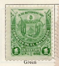 Salvador 1896 Early Issue Fine Mint Hinged 1c. 126248