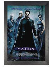 The Matrix Movie Retro Vintage Poster Action Film Photo Simulated Reality Print