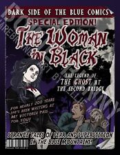 Greeting Card - The Woman in Black - Blue Mountains, NSW Australia