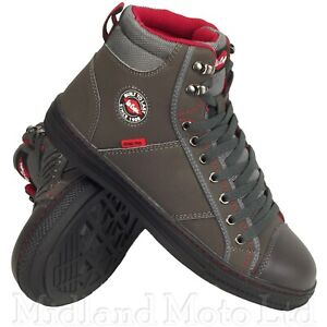 Lee Cooper Safety Steel Toe Cap Grey Baseball Style  Boots Trainers Shoes 22G