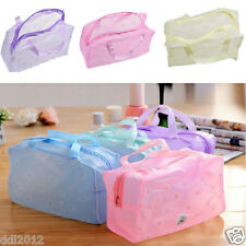 Portable Makeup Cosmetic Toiletry Travel Wash Toothbrush Pouch Organizer Bag HOT