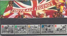GB 1996 FOOTBALL LEGENDS PRESENTATION PACK 267 SG 1925 -1929 MINT STAMP SET