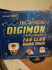 """RARE"" The Official Digimon Digital Monsters Fan Club Game Pack 2002"