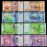 UGANDA 2010-2017 4 PCS 1000 2000 5000 10000 SHILLINGS UNC-NEW