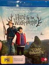 Hunt For The Wilderpeople BLU RAY (2016 New Zealand adventure comedy movie)