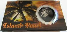 Island Pearl-Palm Tree Necklace & Pendant-  genuine pearl in oyster pretty box