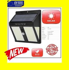 146LED 500Lm Solar PIR Motion Sensor Wall Light Outdoor YardStreet Lamp