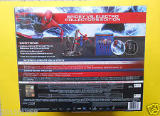 film 2 blu ray disc the amazing spider man electro collector's edition box set z
