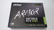 MSI Armor NVIDIA GeForce GTX 1080 OC 8GB GDDR5X DirectX 12 VR Ready Graphic Card