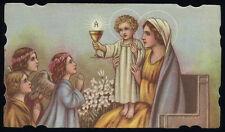 santino-holy card*ediz.NB n.3038 MADONNA DELL'EUCARESTIA