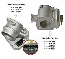 Fits BMW 1er 3er 5er 7er X3 X5 X6 Diesel Throttle Body + EGR Valve 11717793484
