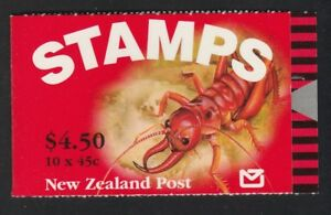 NEW ZEALAND WETA ? FULL BOOKLET OF 10 Stamps MNH Price $4.50