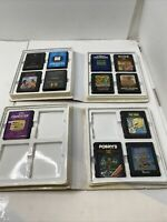 Lot of 12 Atari 2600 Imagic Games Tested With Two Cases