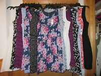 GAP Sleeveless Dresses Many Regular Sizes and many Multi Color and Solid NWT