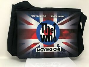 """RARE THE WHO """"MOVING ON!"""" TOUR LAPTOP / BOOK BAG VIP EXCLUSIVE w/ SIGNED POSTER!"""