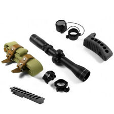 Mount + illuminated 2-7x32 Scout Scope + Accessories For 1891 91/30 Mosin Nagant