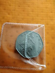 1969 50 Pence  Coin