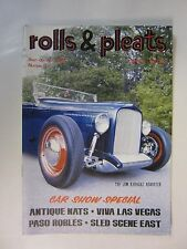 Rat Rod Hot Rod Rolls & Pleats Magazine Issue #12