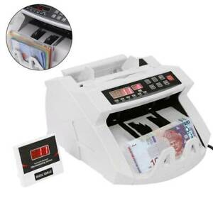 Money Bill Note Counter Fast Currency Cash Counting Machine Bank Pound UK
