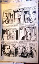 Original Comic Art by GEORGE EVANS -- EC Comics CRIME SUSPENSTORIES #21 PAGE 4
