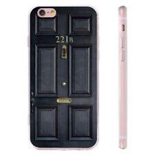 Sherlock's Home 221B Pattern Printed Soft TPU Case for iPhone Samsung Huawei