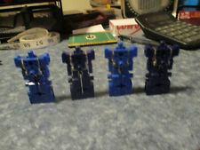Vintage ROBOTECH ROBOLINKS Takara BLOCKMAN ROBOT FIGURE Lot  (4) 1984 Transforme