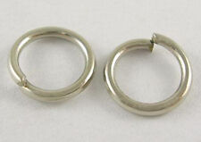 25 Silver Jump Rings 12mm Split Rings Thick Rings Wholesale Jewelry Findings