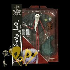 NBX Nightmare Before Christmas SANTA JACK Action Figure DIAMOND Select Toys!