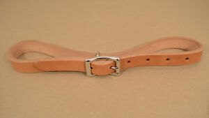 """Breast Collar Tugs - 3/4"""" x 28"""" - Russet Leather - 1 Pair (F14)"""