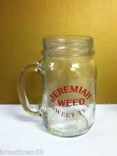 Jeremiah Weed Sweet Tea mason glass jug cocktail drink mug mugs 1 SH5