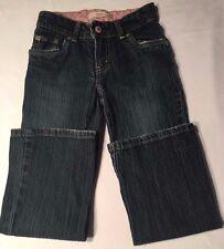 Levi's 517 Stretch Flare 6x Regular Kids Girls Blue Jeans - Dark Blue