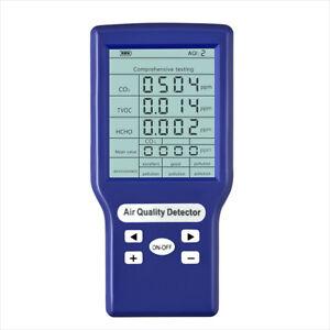 CO2 ppm-Messgeräte Mini-Kohlendioxid-Detektor Gasanalysator Air Quality Detector