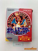 POCKET MONSTER Red Pokemon Nintendo Gameboy JAPAN Ref:315072