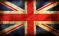 "Union Jack Flag  Canvas PICTURE CANVAS WALL ART ""20X30"""