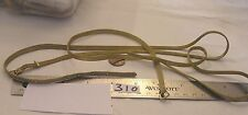 """2 Vtg Mesh Brass Necklace Belt adjustable Clasp 29x1/4""""Jewelry Finding Craft Lot"""
