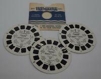 "Vintage 1980 View Master 3-D ""Michael Jackson's Thriller"" 3 Reels 21 Pictures"
