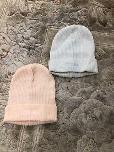 Primigi Baby hat, 00-3 month, 2 pieces, pink and blue color