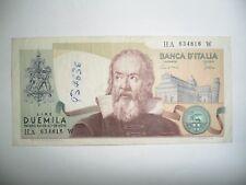 BANCONOTA 2000 LIRE G. GALILEI  HA 634816 W  REPUBBLICA ITALIANA 1973/1983 SPL
