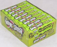 Now and Later Extreme Sour Candy (Case of 24) Apple Cherry Watermelon OVER 3.5LB