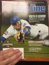 Chicago Cubs Vine Line February 2017 Addison Russell Cover