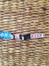 PETSAFE FIDO FINERY QUICK SNAP RIBBON DOG COLLAR 3/4-INCH SMALL CUPCAKES