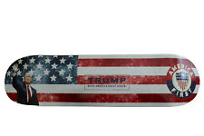 America First skateboard deck Trump MAGA 100% MADE IN USA
