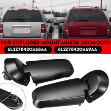 2x Rear Lift Gate Window Glass Hinges For Ford Explorer Mountaineer Right + Left